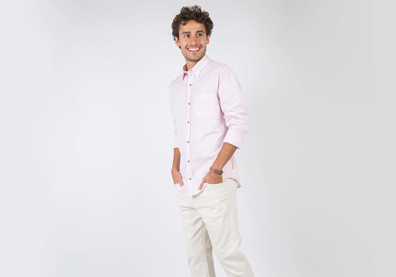 look masculino total white