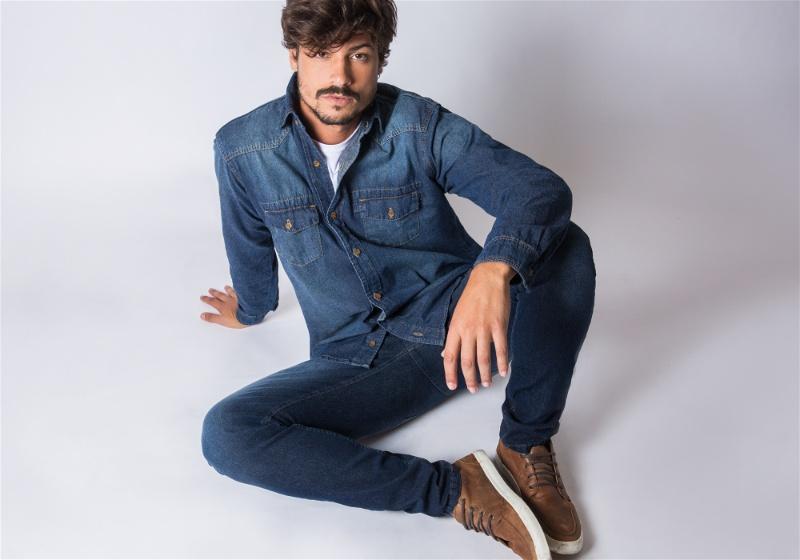 jeans com sapato