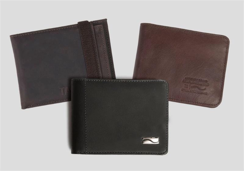 tipos de carteira masculina